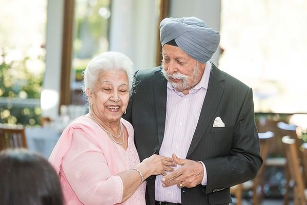 Gurdip and Manjit Chopra 60th Anniversary