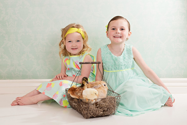 Emily and Rylee Easter Mini