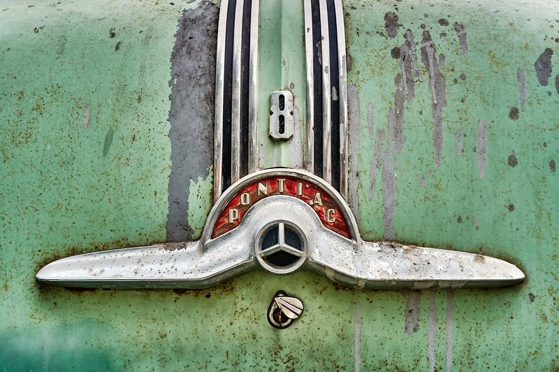 Vintage Pontiac Trunk