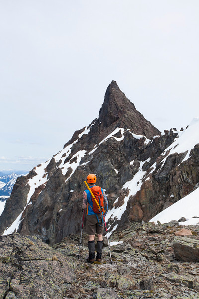 Climbing Foley Peak
