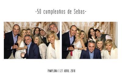 50 Cumpleaños de Sebas 27.04.2018 ¿Primer apellido de Sebas? (Primera en mayúscula y sin tilde)