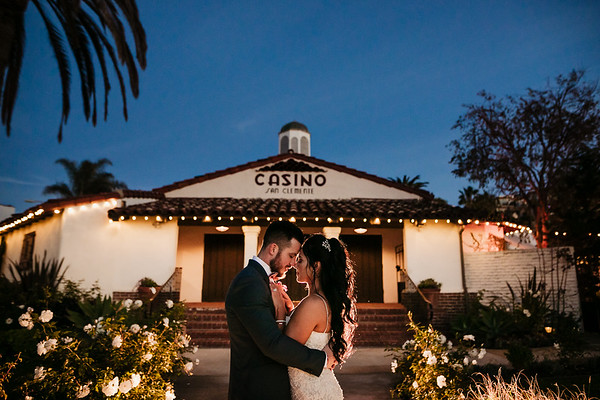 Gabby and John | The Casino | San Clemente Wedding