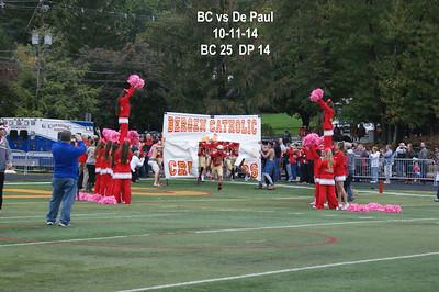 BC vs DePaul 10-11-14