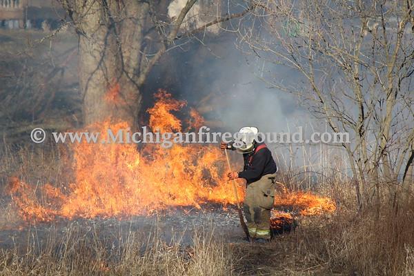 3/13/20 - Onondaga grass fire, 5800 block of Plains Rd