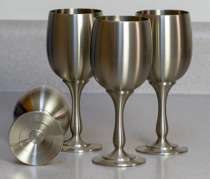 Pewter Wine Glasses