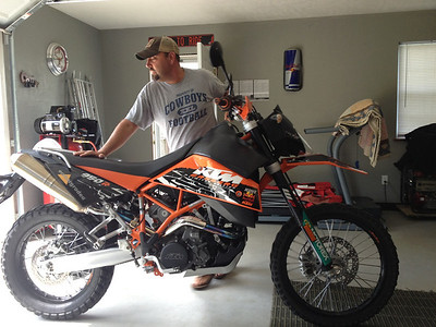 2009 KTM 950 Super Enduro