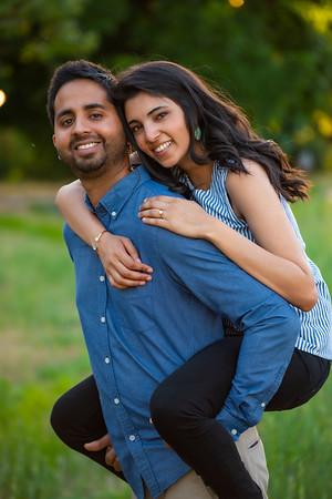 Richa & Nikhil