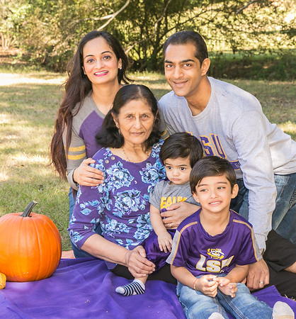 Rupal Amin and Family - Oct 9, 2016