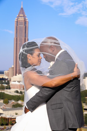 Chante and Russell Davis Wedding