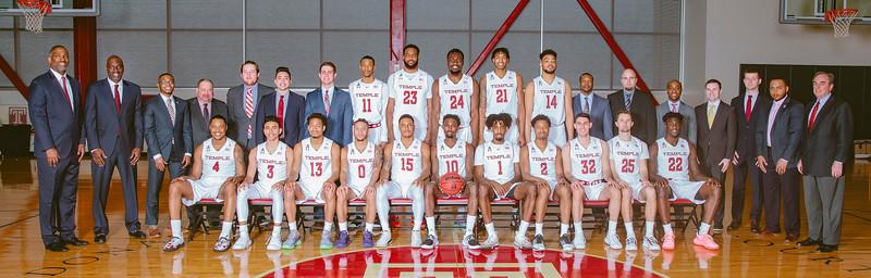Temple Team Basketball Photo