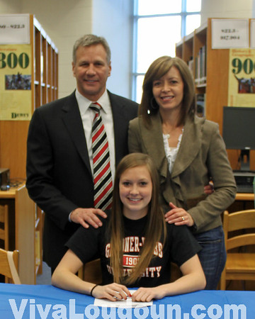 College Signing: Briar Woods Girls Soccer 2012