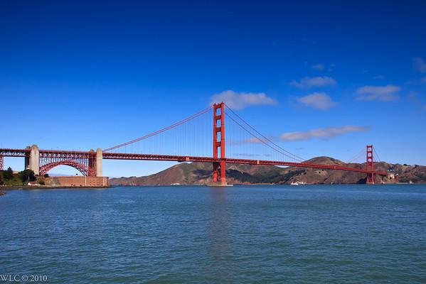Golden Gate Bridge and Bay Area 08-18-2010
