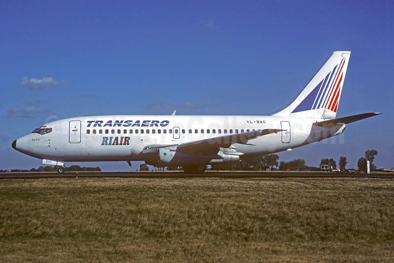 Riair (Riga Airlines) - Transaero Airlines Boeing 737-236 YL-BAC (msn 22034) CDG (Christian Volpati). Image: 932380.