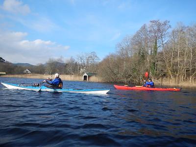 Loch Katrine and Loch Ard February 2018