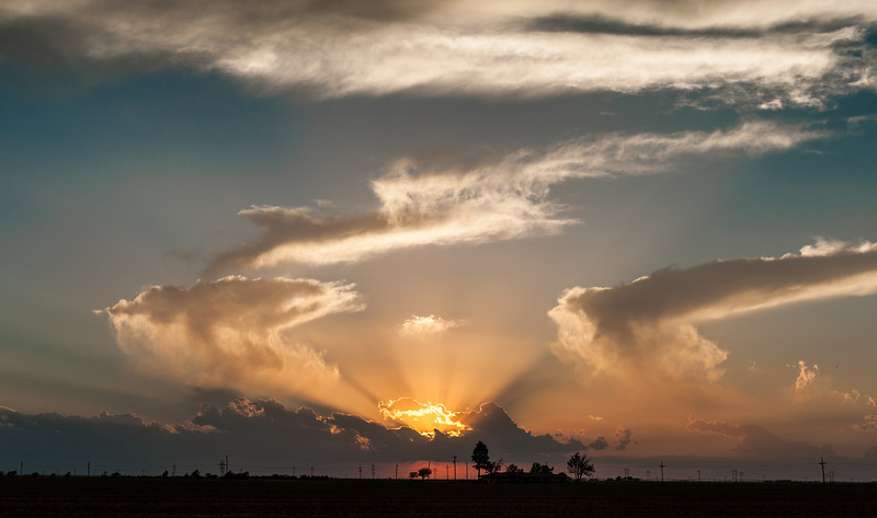 Clouds and Sunsets, 6-21-2012