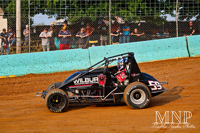 USAC Sprints at Action Track