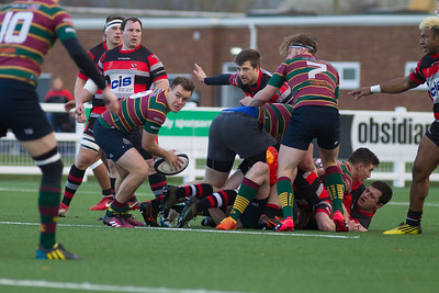 Cheltenham Rugby V Old Bristolians - 8th December 2018