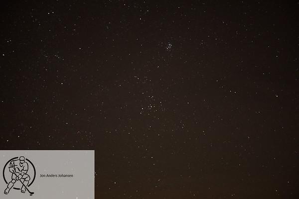 Nattfotografering på Børtevann, 12.12.17