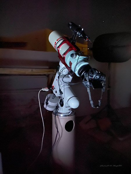 Nov 17, 2020 first light with new Takahashi FSQ 106 EDX4 Telescope
