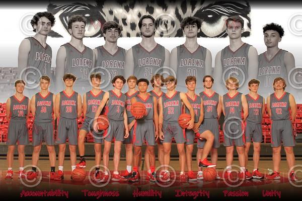 Lorena High School Basketball 2020-2021