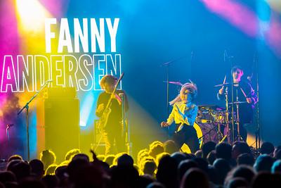 Fanny Andersen, Den Hemmelige Festen 2017