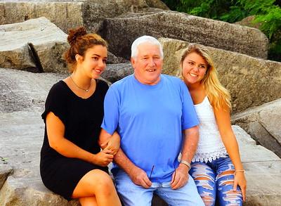 Dave Clevenger Family 7-23-2017