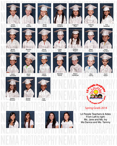 Little People Spring Graduates 2014