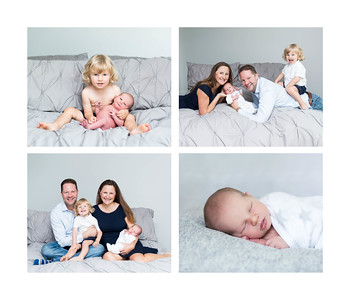 Newborn Family Photographs at home in natural light, natural style - Del Mar San Diego