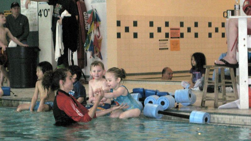 Swim lessons - week 1