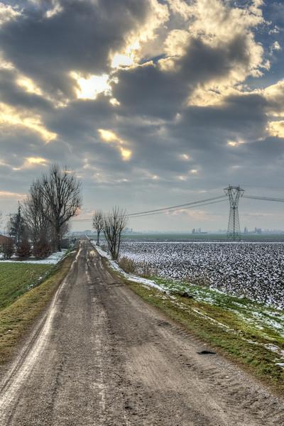 Via Pascolone - Crevalcore, Bologna, Italy - December 10, 2012