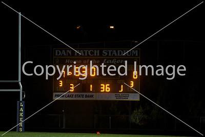 2010-10-26 JFK Football Varsity @ Prior Lake (Sectional I)