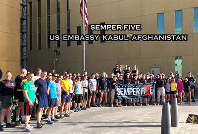 Semper Five in Afghanistan
