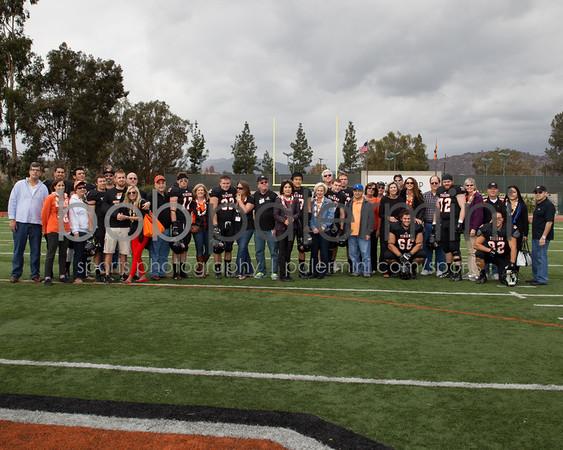 Oxy Football Senior Day 11-16-13