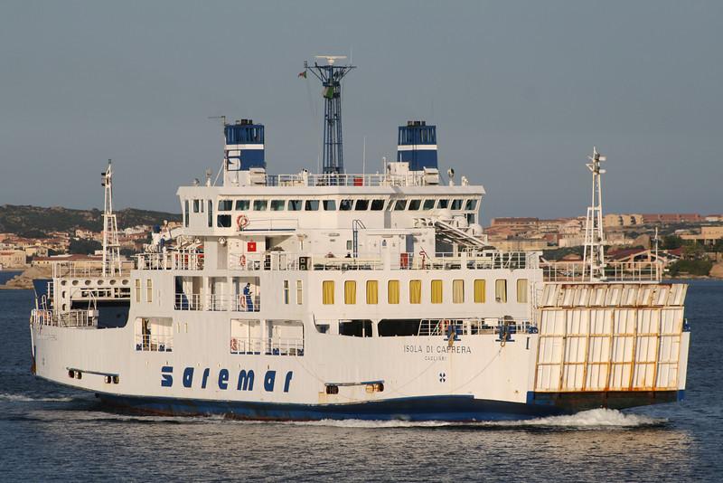 2008 - F/B ISOLA DI CAPRERA on route from La Maddalena to Palau.