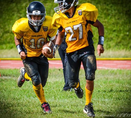 Midget Yellow Jackets vs Seminoles