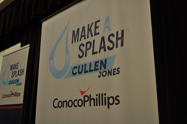 Bufallo Creek Conoco Swim Program with Cullen Jones