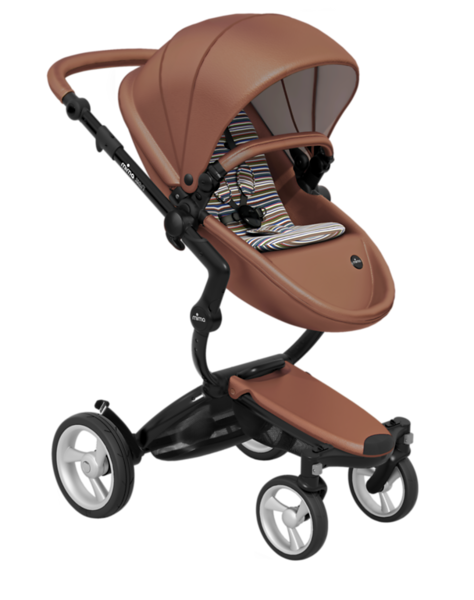 Mima_Xari_Product_Shot_Camel_Flair_Black_Chassis_Autumn_Stripe_Seat_Pod.png