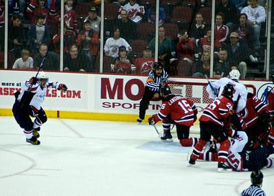 Caps @ Devils (5/6) - Shootout (November 15, 2008)