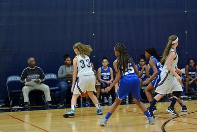 OE girls Fresh. basketball Vs Joliet Central 2017
