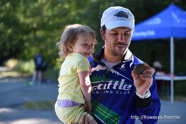 Cougar Mt Trail Run July  8th, 2017