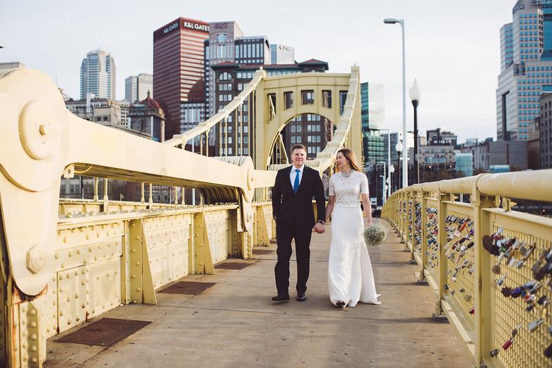 Pittsburgh Elopement Photographer - Monaco Bridge Downtown - Hadley-250.jpg
