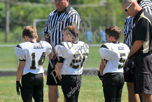 Berks Catholic vs Van Reed Mighty Mite Varsity Football 2014