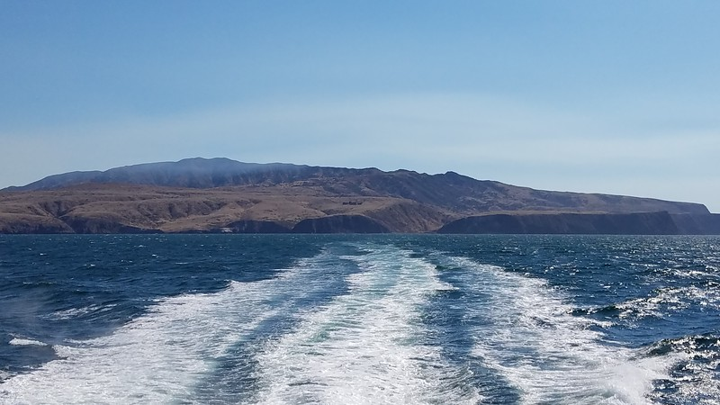 Leaving the Channel Islands | A Day Trip to Santa Cruz Island in the Channel Islands National Park