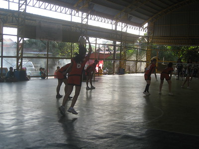 SFAMSC Cheetahs Volleyball Team SY 2011-2012