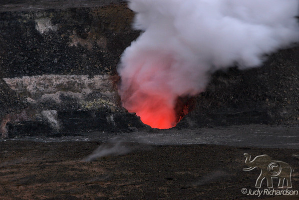 Kilauea Caldera~6-2008