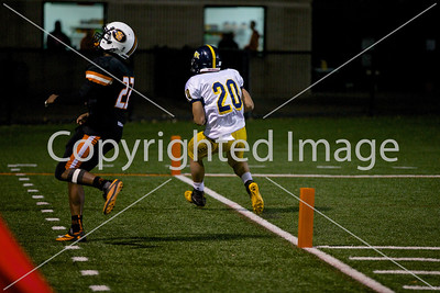 2014-10-21 JFK Football Varsity @ St. Louis Park (Sectionals) 2 Half