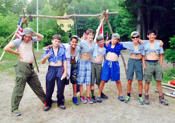 201407 Cole Canoe Base Summer Camp