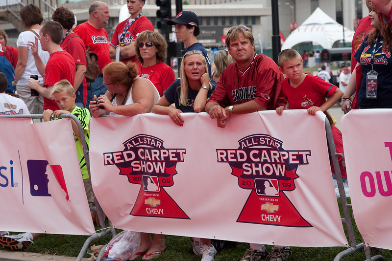"""2009 MLB All Star Game """"Red Carpet Show"""", St. Louis, MO"""