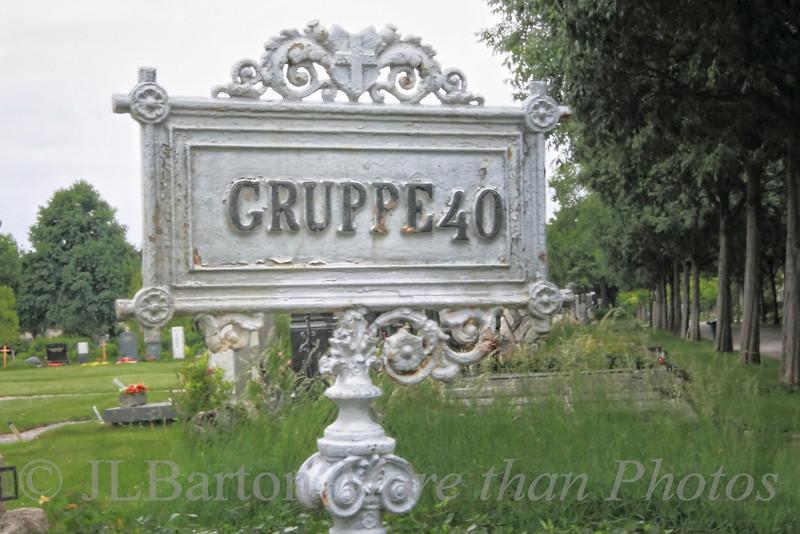 Vienna's central cemetery