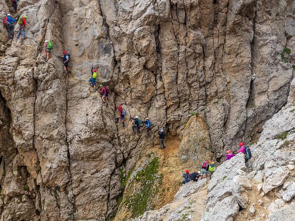 Rotwand (Klettersteig) - Südtirol (15.08.2018)